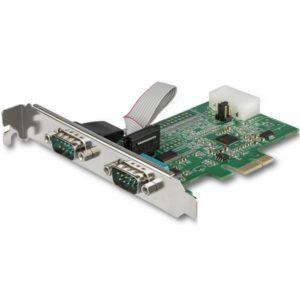 StarTech.com 2-Port RS232 Serial Adapter Card with 16950 UART PEX2S953LP